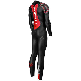 Head MyBoost Shell 3.2 Fullsuit Heren, black/red